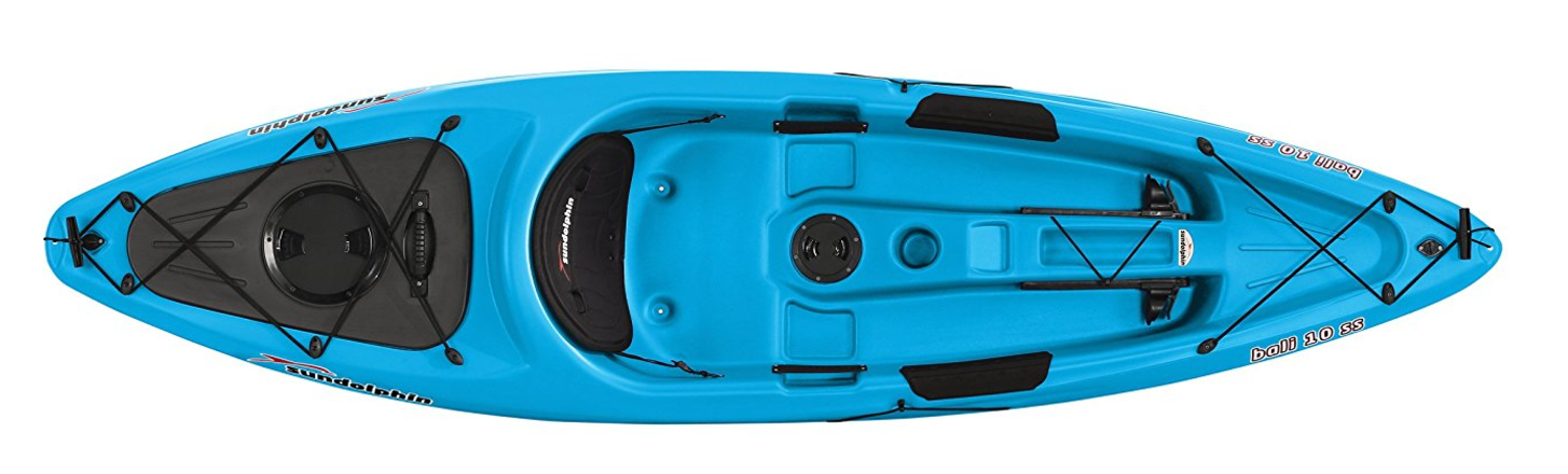 Sundolphin kayak reviews five great models you should for Sun dolphin fishing kayak accessories